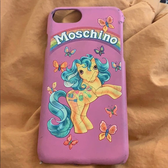 low priced 6ce21 a988d Moschino My Little Pony IPhone 6 case